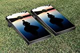 Victory Tailgate Water Meditation Themed Cornhole Game Set