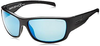 0301feb70e79 Smith Optics Elite FRONTMAN Elite Frontman Sunglass with Black Frame and  Chromapop Polar Blue Mirror Lenses