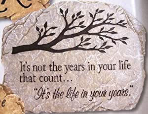Life Years Stepping Stone Carson Resin Branches