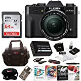 Fujifilm X-T20 Camera Body w/XF18-55mm Lens Kit (Black) w/Editing Software & 64GB Card Kit