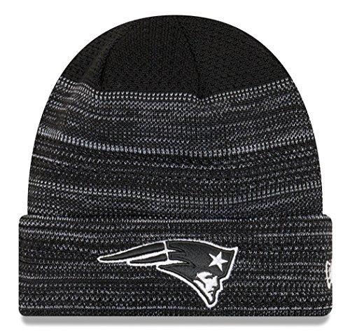 "New England Patriots New Era 2017 NFL ""Cold Weather TD"" Knit Hat - Black"