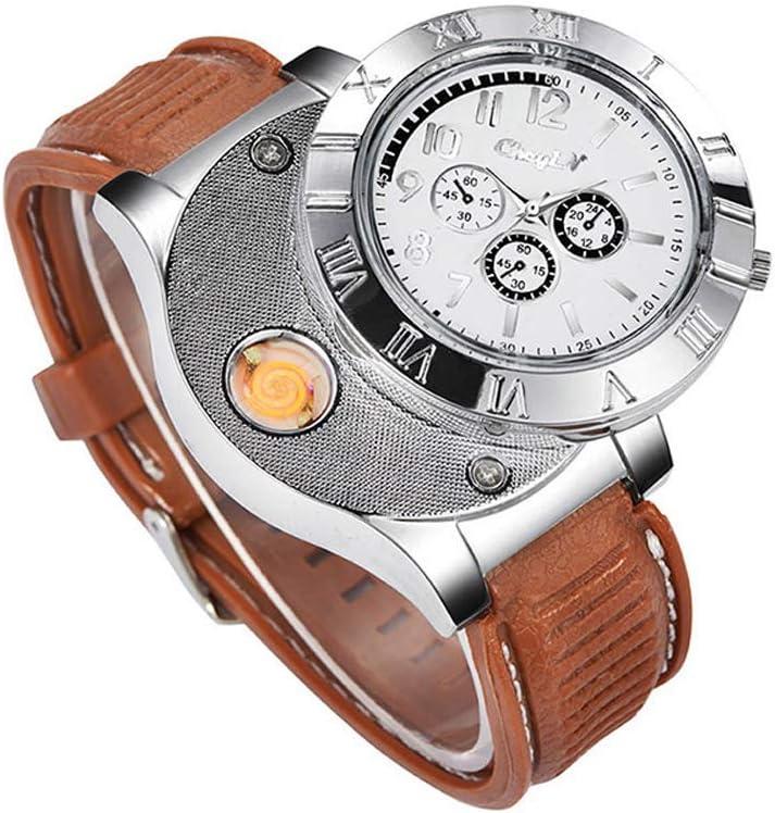 Nuevo Militar USB mechero reloj de Hombre Casual relojes de ...