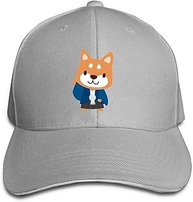 Cartoon Bone and Dog Classic Baseball Cap Men Women Dad Hat Twill Adjustable Size Black
