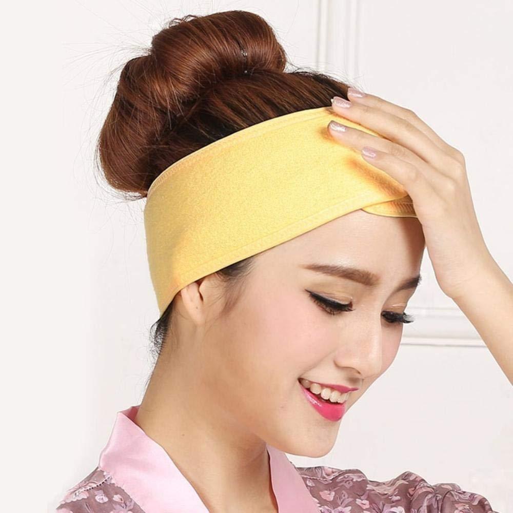 Women Soft Adjustable Towel Hair Wrap Head Band Make Up Beauty Hair Band Salon .