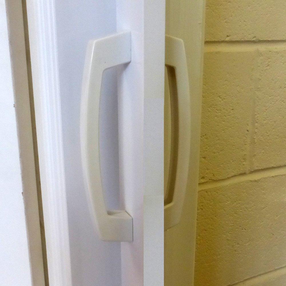 Amazon.com: Dynasty Internal PVC Concertina Folding Door White Gloss ...