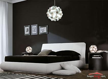 Lampade soffitto camera da letto camera da letto elegante e raffinata con particolare a led - Amazon lampadario camera da letto ...