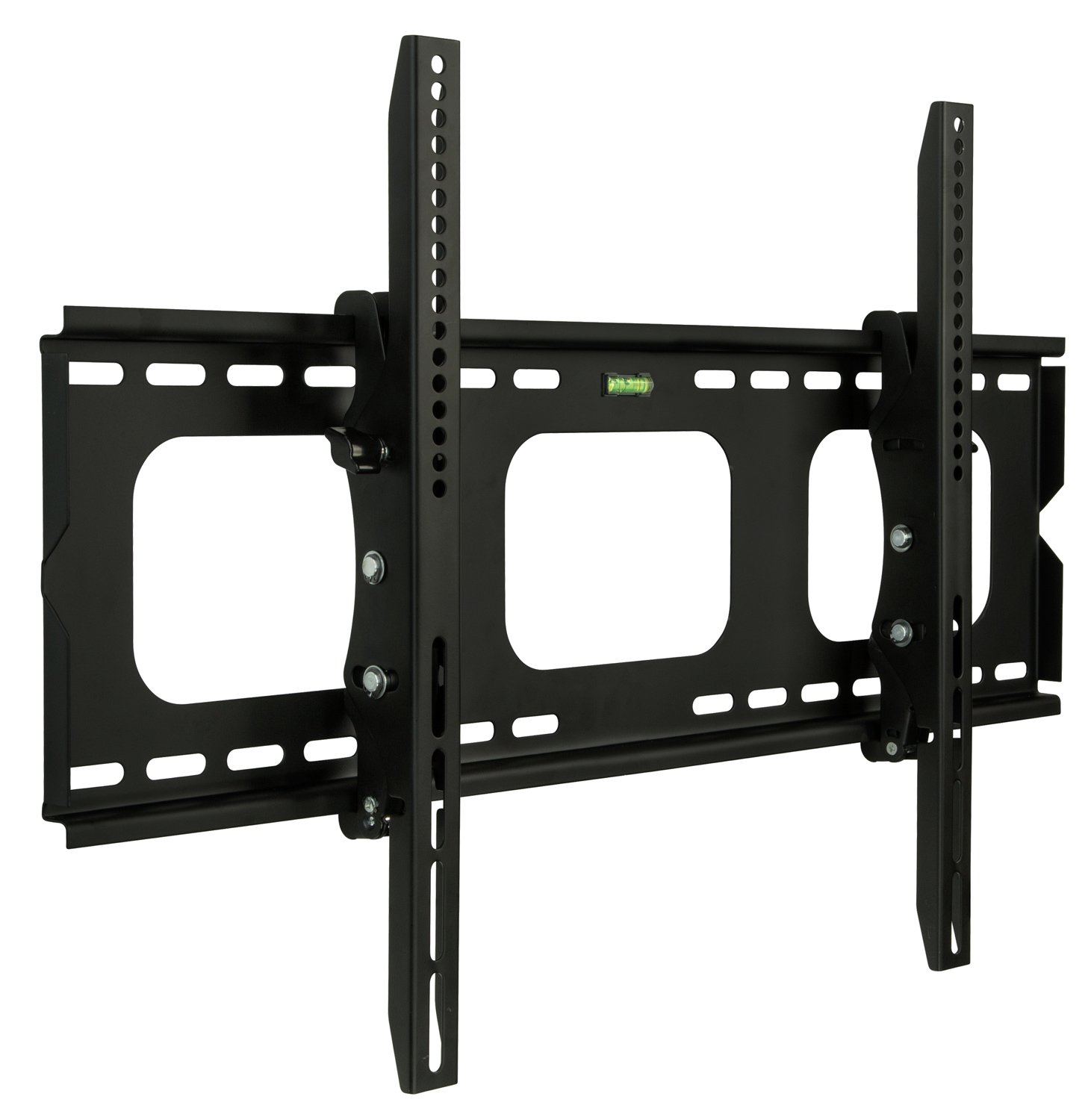 """Mount-It! MI-303-CBL Tilt TV Wall Mount Bracket for LCD, LED, or Plasma Flat Screens, 32"""" – 60"""" Screen Sizes, HDMI Cable Included, Black"""