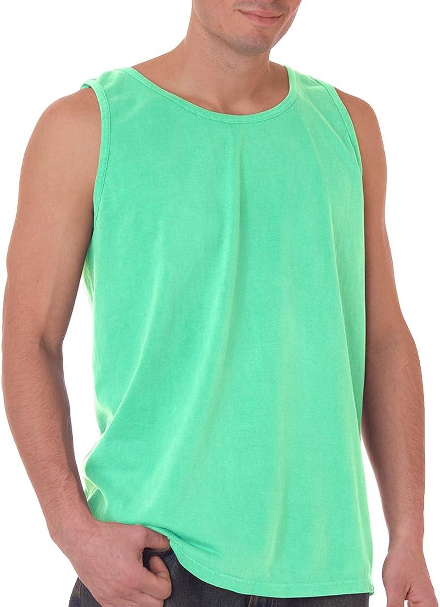 Comfort Colors Chouinard Adult Preshrunk Garment-Dyed Tank Top