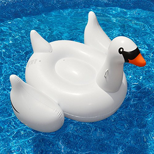 Swimline Giant Inflatable Swan Pool Float (Giant Inflatable Swan Pool Float)
