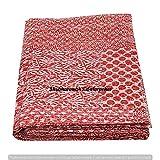 Red Color Assorted Patchwork Kantha Boho Ethnic