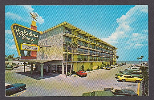 Holiday Inn Oceanside Daytone Beach FL postcard 1976