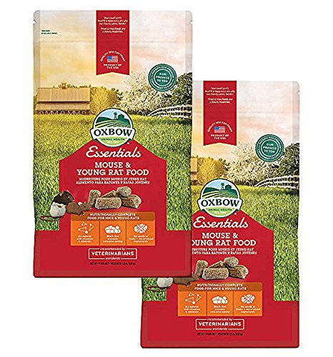 Oxbow Essentials - Mouse & Young Rat Food (2 Pack) ()