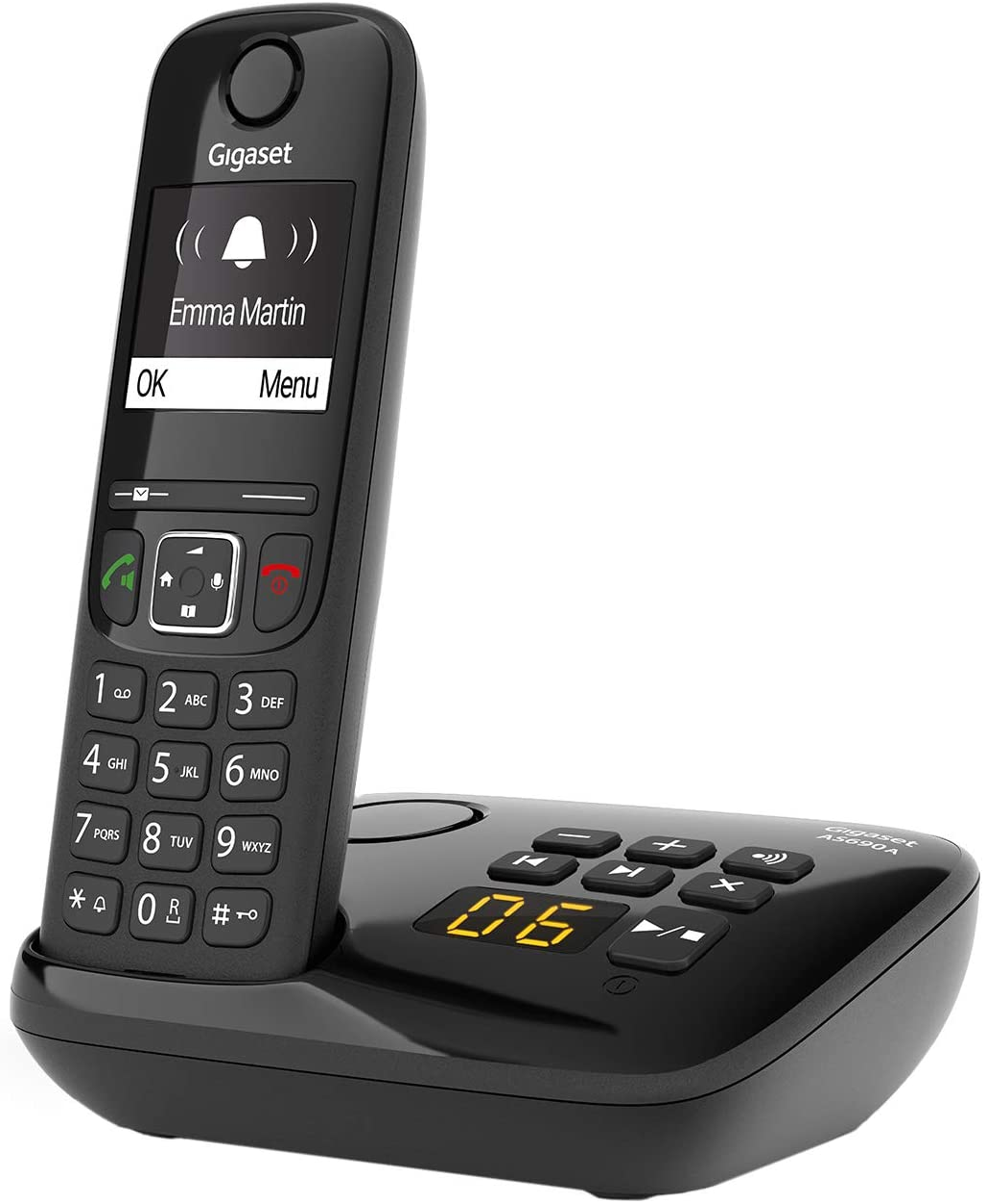 Gigaset As690a Schnurloses Telefon Mit Elektronik