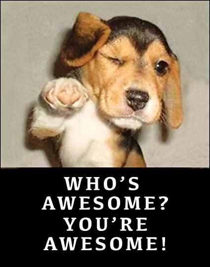 amazon com funny retro poster who s awesome you re awesome