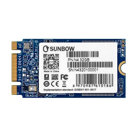 TCSUNBOW M.2 2242 32GB SSD NGFF 30GB 32GB Solid State Drive Disk for Ultrabook