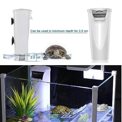 Fish & Aquariums Pet Supplies Aquarium Rocks Filtration System Turtle Fish Reptile Tank Waterfall Pump Quiet
