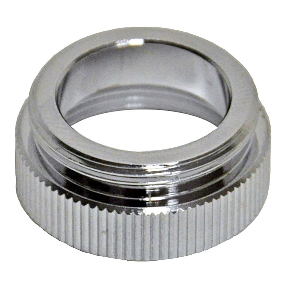 Danco 10524 15/16 in.-27M x 15/16 in.-27M Chrome Male/Male Aerator Adapter, Chrome Inc.
