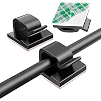 Pack van 50 kabelhouders zelfhechtende kabelclips kabelclips hoge viscositeit kabelclips bureau organizer kabelbeheer…