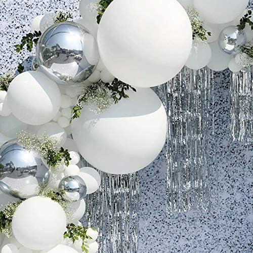 BETAULIFE Wedding Balloon Garland White Balloons Arch Kit for Wedding Reception