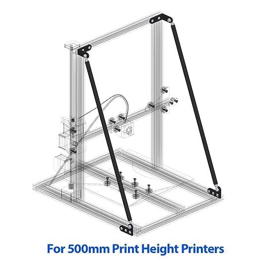 voloki Soporte de Kit de Corbata de Impresora 3D, Mejorar la ...