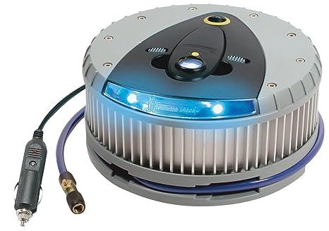 Michelin 9523 - Compresor de neumáticos con LED e indicador de presión