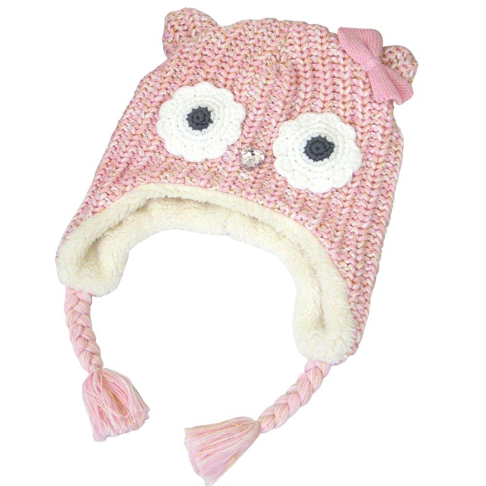 Lisianthus Girls Cute Cartoon Animal Winter Warm Knitted Hat