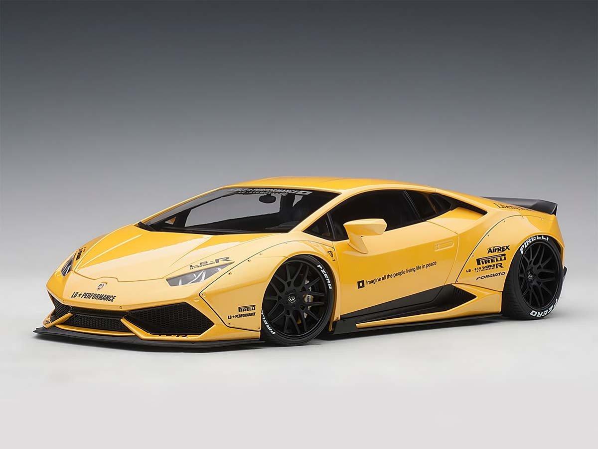 AUTOart 1/18 Lamborghini Huracan LB-Works Metallic Yellow