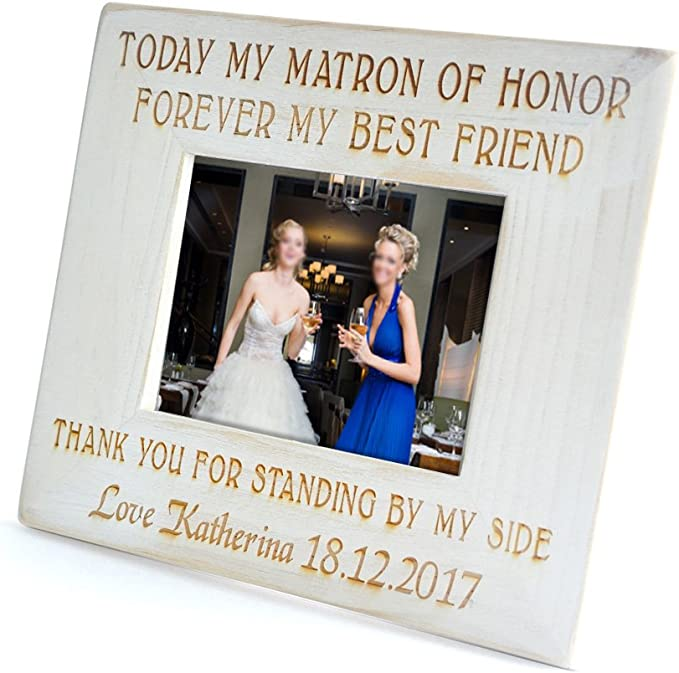 Bridesmaid Collage Picture Frame Parent Gift Birthday Custom Collage Maid of Honor Frame Personalized Sister Gift Best Friends 8 x 8