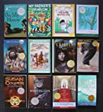Newbery Medal/Honor Chapter Books: Set of 12 (On My Honor ~ My Father's Dragon ~ The Corn Grows Ripe ~ Abel's Island ~ Whipping Boy ~ Call It Courage ~ Mixed-Up Files of Mrs. Basil E. Frankweiler ~ Whittington ~ Dark Is Rising ~ Maniac Magee ~ Crispin The Cross of Lead ~ Moccasin Trail)