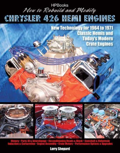 By Larry Shepard How to Rebuild and Modify Chrysler 426 Hemi EnginesHP1525: New Technology For 1964 to 1971 Classic H (1St Edition) (Hemi Chrysler 426)