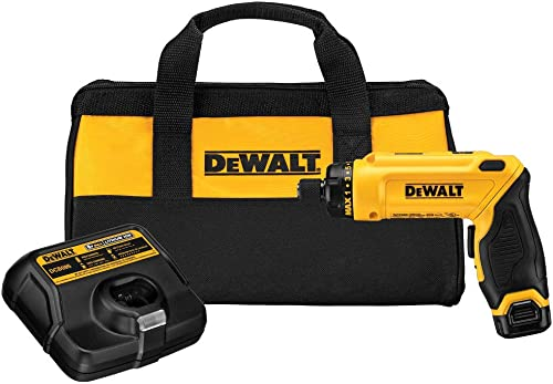 Dewalt DCF680N1R 8V MAX Lithium-Ion Gyroscopic Screwdriver Kit Renewed