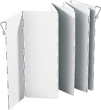 Semptec Urban Survival Technology Protección contra el Viento Estufa: Parabrisas Plegable de Aluminio para Cocina de Gas (Protección contra el Viento ...