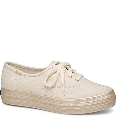 1160c6aa17d2 Amazon.com | Keds Women's Triple Shimmer Fashion Sneaker | Fashion Sneakers