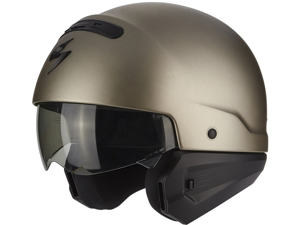 Exo Combat Scorpion Motorradhelm Titanium Gr/ö/ße XL