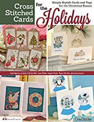 Handmade Christmas cards are the best! Create just the right card for friends and family this Christmas: More than 40 cards to stitch and send Traditional & contemporary designs from the classic to the lighthearted Easy step-by-step guide...