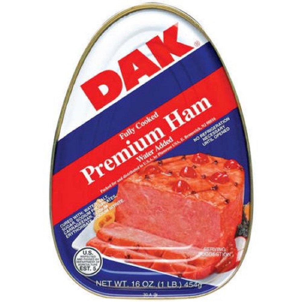 Dak Cured Ham 16 oz by dak