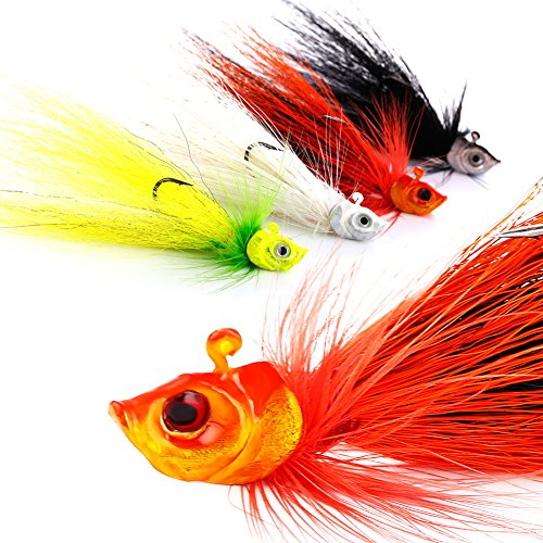 Sougayilang Fishing Lures Buzzbait Spinnerbait Jigs Lure for Bass Pike - Lures And Jigs