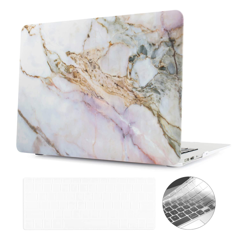 "digi-tatooハードケースデザインApple MacBook Air Pro Retina 13インチ/ 15 ""が滑らかなテクスチャ、延性強力な保護 Macbook Air 13"" - A1369/A1466 Macbook Air 13\ Cracked Marble B076ZPLB3W"