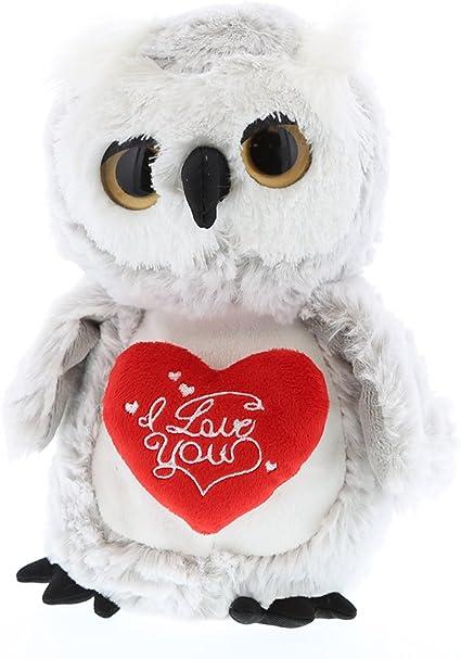 Dollibu Dollibu Owl I Love You Valentines Plush Super Soft Plush