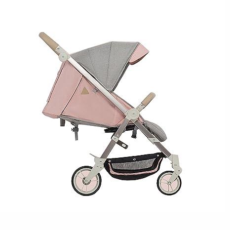 Cochecito de bebé sentado Horizontal Plegable portátil Carro de ...