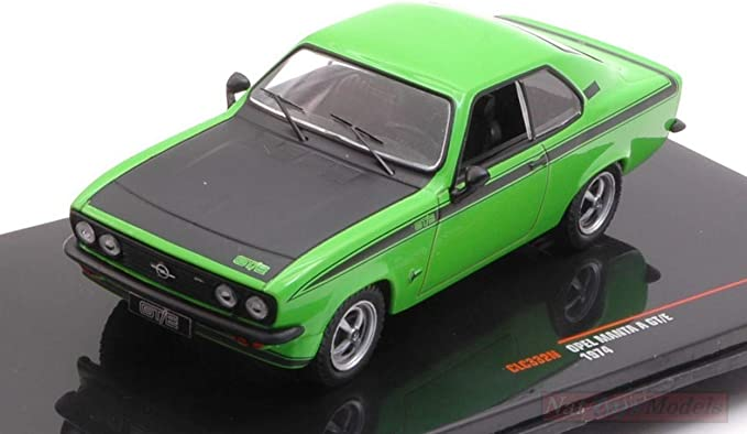 Opel Manta A GT//E 1974 Green//Black CLC332N IXO 1:43 New in a box
