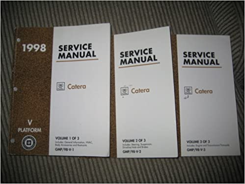 Cadillac catera repair manual | ebay.