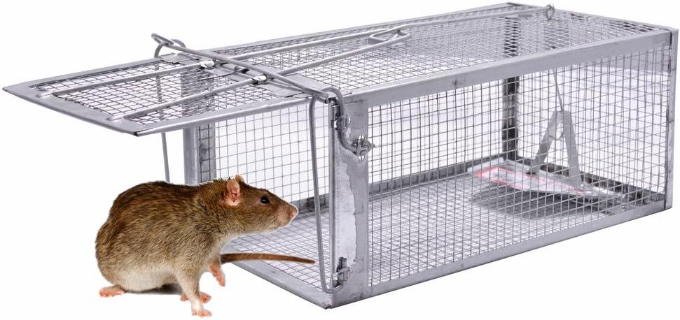 New Humane Mouse Mice Trap Humane Live Catcher Rat Vermin Rodent Cage Traps Pest