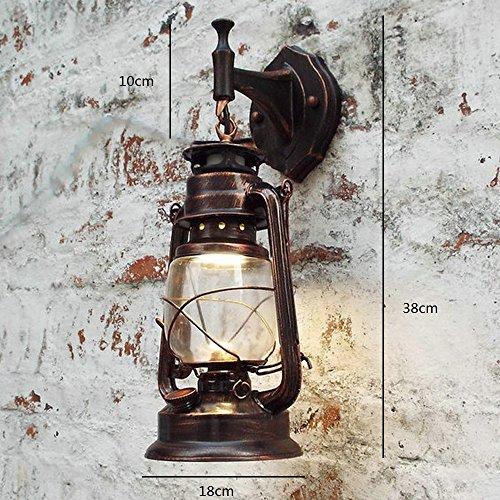 Bcy Métal Applique Murale Retro Lampe Murale éclairage Luminaire
