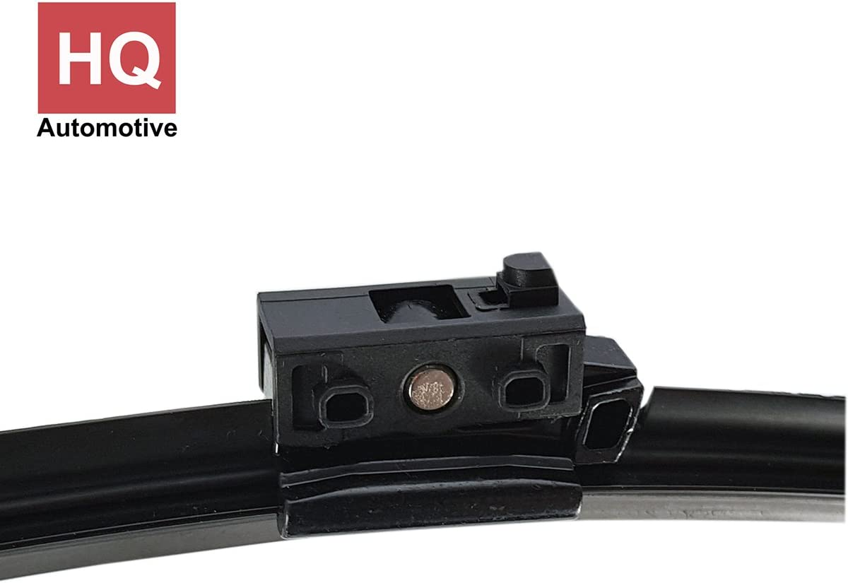 ADM91-421 Twin Box Set of Front Frameless Flat Aero Wiper Blades HQ Automotive