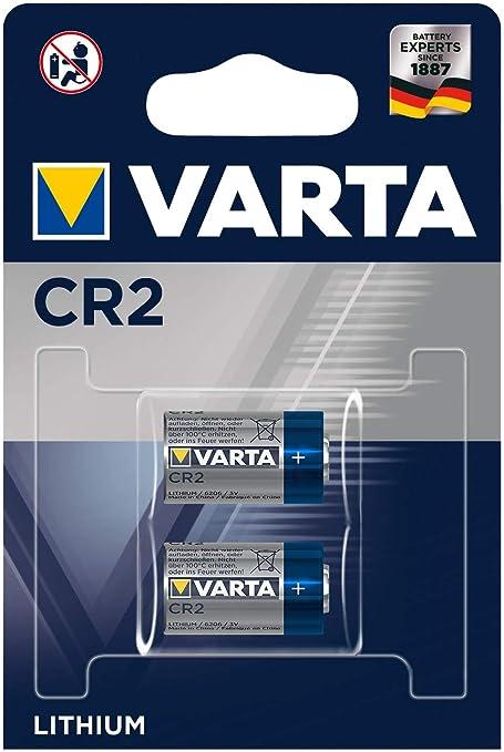 Elektromaterial Clever 25 X Varta Cr123a Lithium 3v 6205 Cr17345 Blister Fotobatterien
