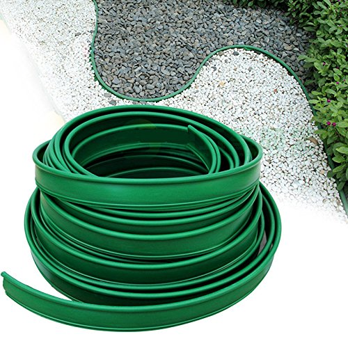 Terrace Board Plastic Landscape Edging Coil,5inx10ft by Unknown