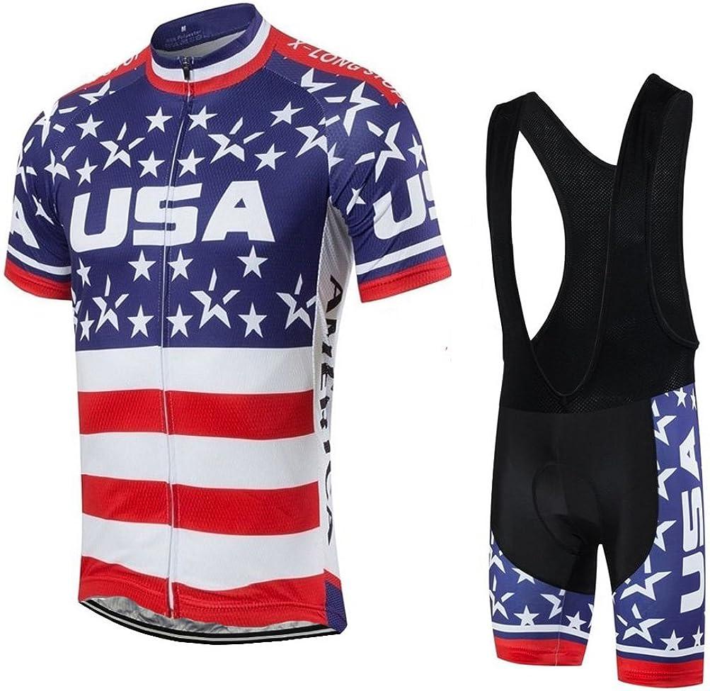 Uriah Men's Cycling Jersey Short In stock OFFer Sets Shorts Bib Sleeve Black