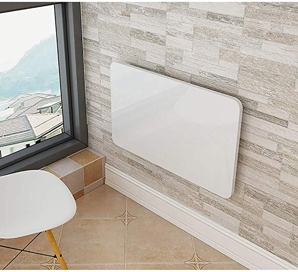 Mesas de comedor Mesa Plegable De Pared Plegable, Escritorio De ...