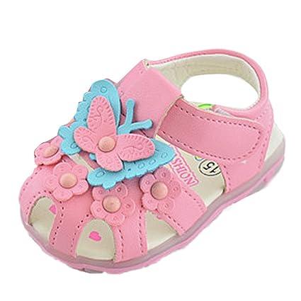 448db148 Para 0 - 2,5 años niñas, Clode® Bebé Niña Niños Mariposa sintética ...